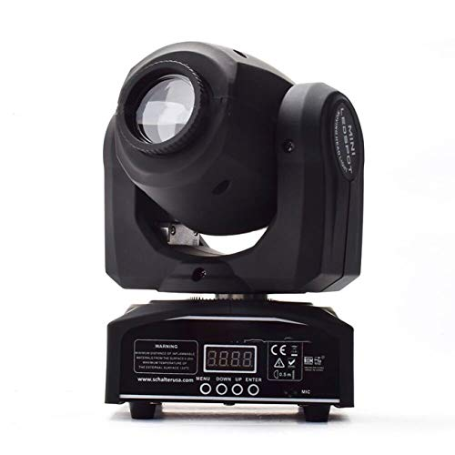 Head Moving Light Sound Control LED Stage GOBO Pattern Lamp for Disco KTV ()