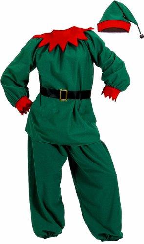 HALCO Men's Velour Elf Suit