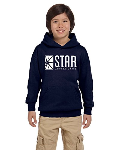 Cindy Apparel Star Lab Unisex Youth Pullover Hoodie Sweat Shirt