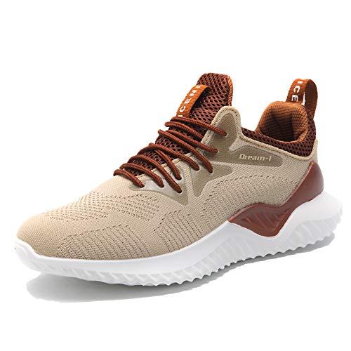 Freizeit HUSK'SWARE Sneaker Gym Laufschuhe 1 Turnschuhe Herren Atmungsaktiv Schnürer Sportschuhe Braun w6UrqwXS4x