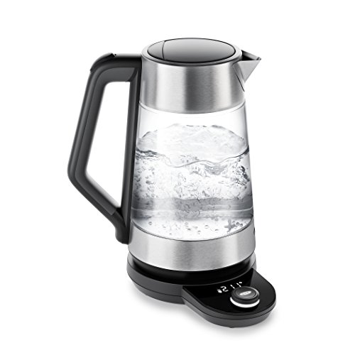 OXO BREW Cordless Glass Adjustable Temperature Electric Kettle