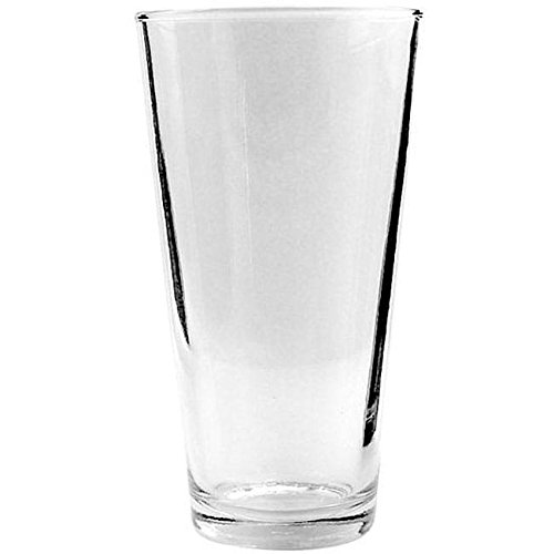 Anchor Hocking 77422 3-5/8 Inch Diameter x 6-7/8 Inch Height, 22-Ounce Mixing Glass (Case of 24)