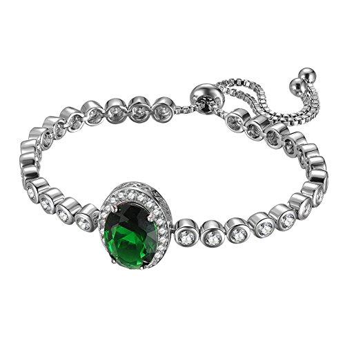 KIVN Jewelry Adjustable Zirconia Bracelets product image
