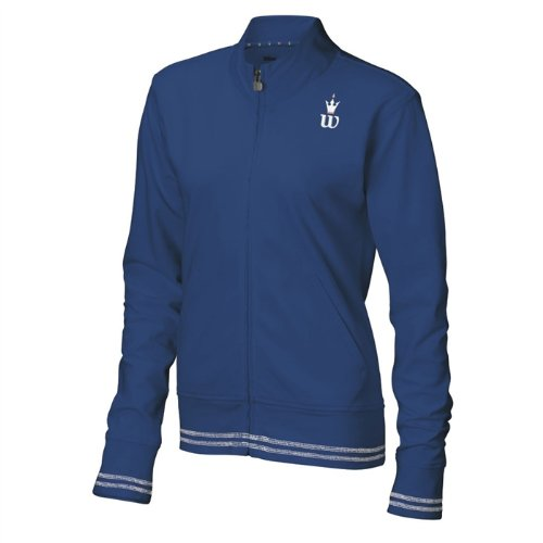 Wilson Hall of Fame Women's Jacket - New Navy/White/Prep Pink (MD)