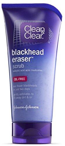 CLEAN & CLEAR Blackhead Eraser Scrub Oil-Free 5 oz (Pack of 8)