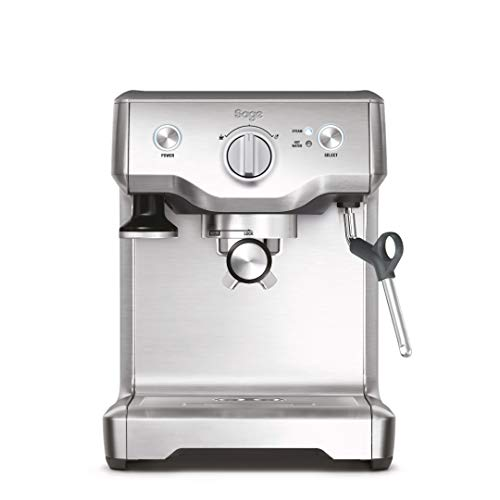 Sage Appliances SES810 the Duo Temp Pro, Cafetera espresso, Cappuccinatore, 15 Bar, Acero Inoxidable cepillado sin…