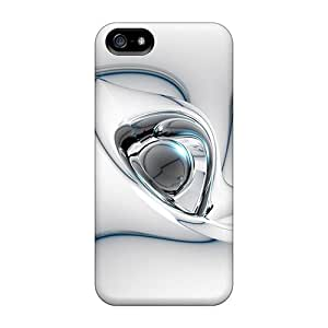 New Arrival Covers Cases With Nice Design For Iphone 5/5s- 3d Abstract White