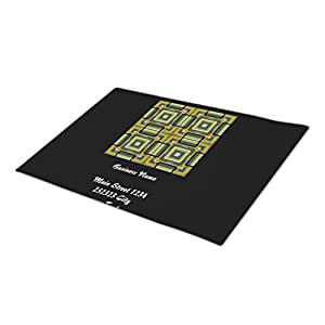 RealYou Checkered Modern Cool Doormats