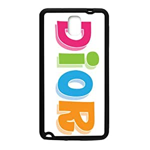 Dior design fashion cell phone case for samsung galaxy note3