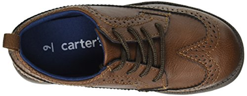Pictures of carter's Boys' Oxford5 Dress Shoe Oxford, Brown, 7 M US Toddler 2