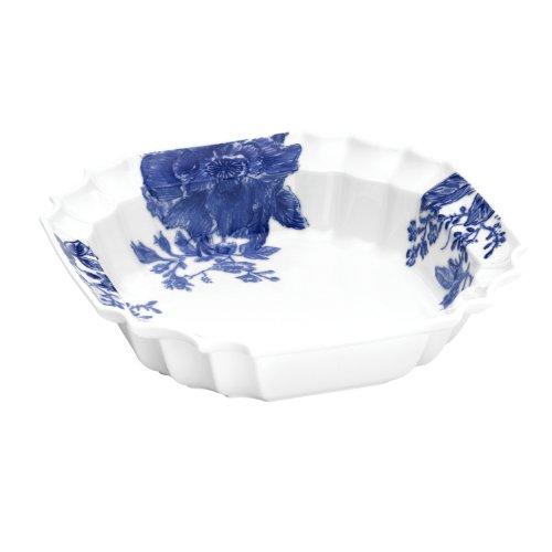 Dinnerware Tatnall Street 10-1/2-Inch Ornate Serving Bowl, Bluebell ()