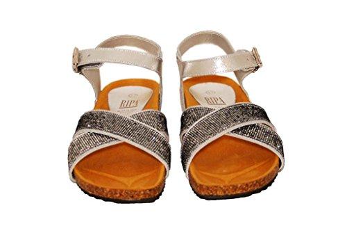Sandalen Sandaletten aus Leder Schuhe Damen RIPA shoes - 59-2593 ...