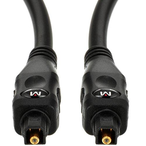 Mediabridge Toslink Cable (6 Feet) - Optical Digital Audio Cable