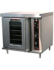 Garland MCO-E-5-C 31 Master Series Half-Size Single Electric Convection Oven with 200 Solid State Control 2-Speed 1/3 HP Motor in Stainless