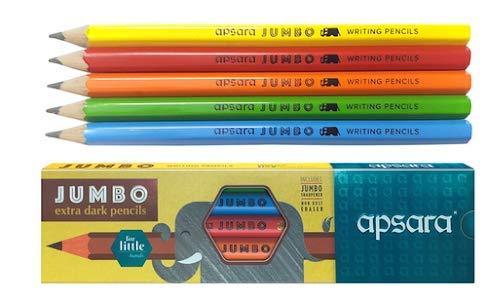 Apsara pencils pack of 10 pencil Gsm® Dumanhill registered listing (Apsara  steno pencil)
