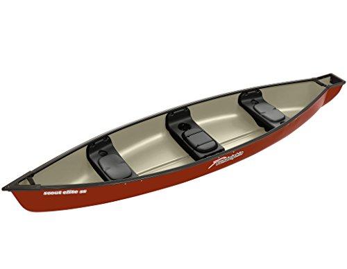 Sun Dolphin Scout Elite SS Square Back Canoe (Hazelnut, 14-Feet)