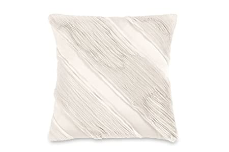 DKNY Serenity Decorative Pillow Ivory 40Inch By 40Inch Amazonco New Dkny Decorative Pillows