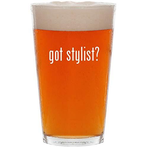 got stylist? - 16oz All Purpose Pint Beer Glass