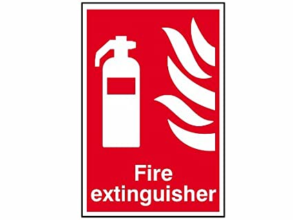 Scan 1350 - Cartel indicador de extintor (200 x 300 mm, PVC ...