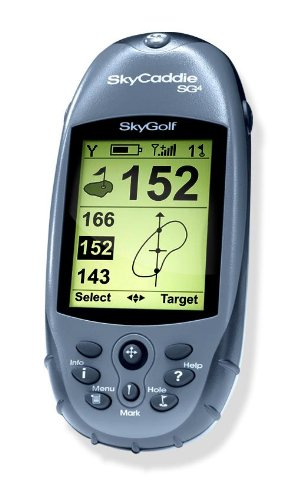 SkyCaddie SG4 Golf GPS (Gray/Black) by SkyGolf