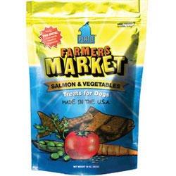 Plato New Farmers Market Salmon And Veggie Strips Dog Treats