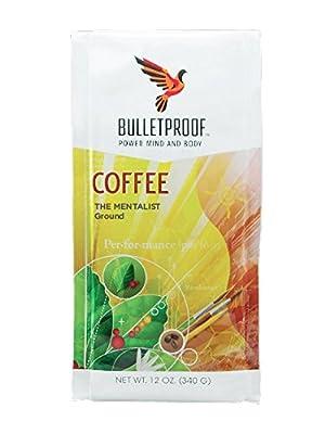 Bulletproof Coffee,Mentalist,Ground 12 Oz (Pack Of 6) by Bulletproof