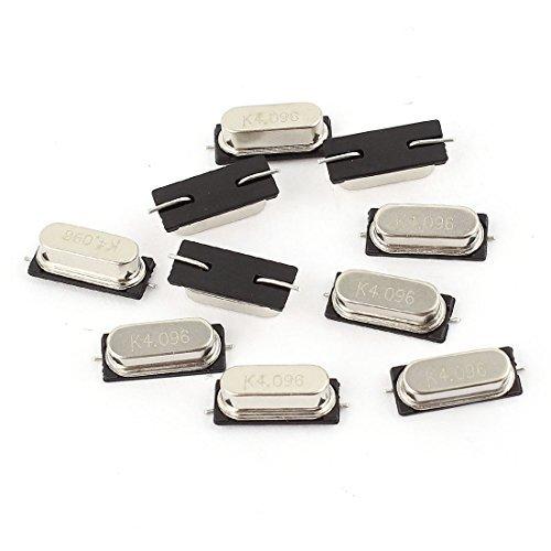 10 piezas HC-49S / SMD 4.096M 4.096MHZ pasiva del oscilador ...