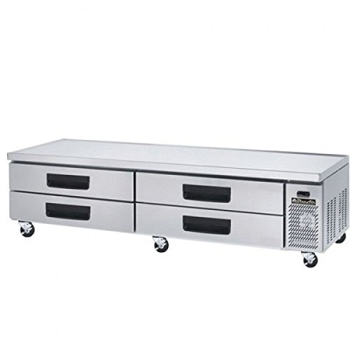 Refrigerated Base Chef Stand (Blue Air BACB96M 96-Inch Refrigerated Equipment Stand Chef's Base - 4 Drawers)