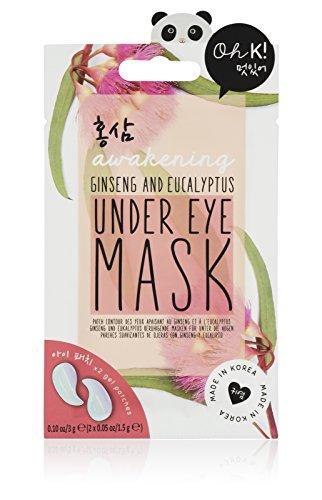 Oh K! Under Eye Mask, Ginseng & Eucalyptus