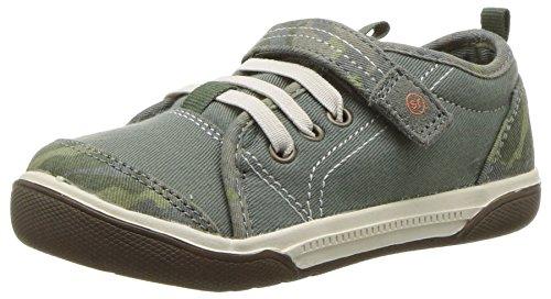 (Stride Rite Boys' Dakota Sneaker, Green Camo, 9 Wide US Toddler)