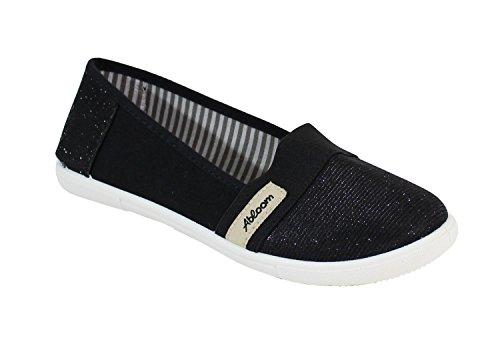 Shoes By Bailarinas Mujer Negro Para Uxaqadgw