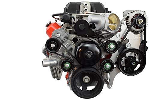 (LS Truck 6 Rib LSA Supercharger Tensioner/Idler Bracket Kit LQ4 LSX 5.3L 6.0L)