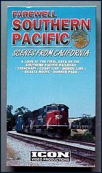 Farewell Southern Pacific Scenes From California (VHS Train - Mall California Angeles Los