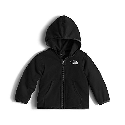 Toddler Full Zip Hoodie (The North Face Kids Baby Girl's Glacier Full Zip Hoodie (Infant) TNF Black Sweatshirt 18-24 Months)