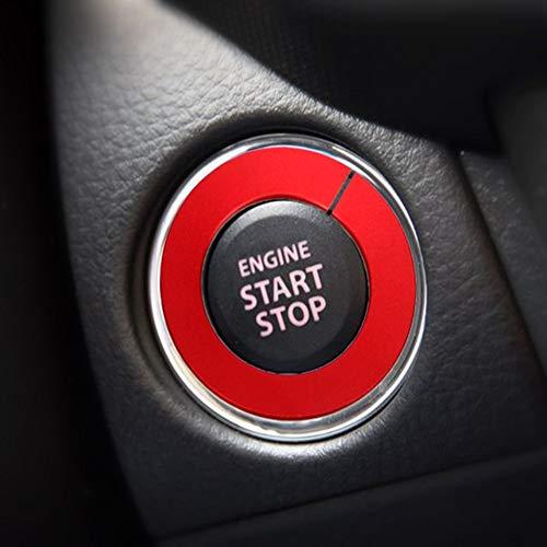 SalaBox-Accessories - Engine Start Button Ring Keyhole Decoration Car Stickers for Infiniti Q50 QX60 QX50 Q50L QX70 Q70L Car Ignition Switch Cover from SalaBox-Accessories