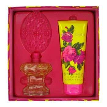 BETSEY JOHNSON by Betsey Johnson Gift Set for WOMEN: EAU DE PARFUM SPRAY 3.4 OZ & SHOWER GEL 6.7 OZ