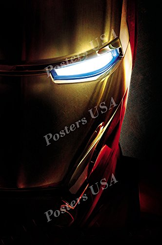 Posters USA - Marvel Iron Man Textless Original Movie Poster GLOSSY FINISH - FIL286 (24