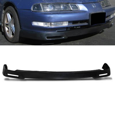 (Remix Custom for 92-96 Honda Prelude P1 Style PU Front Body Bumper Lip Kit Spoiler)