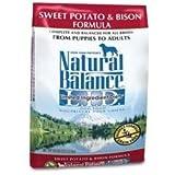 Natural Balance LID Bison Dry Dog Food 28lb, My Pet Supplies