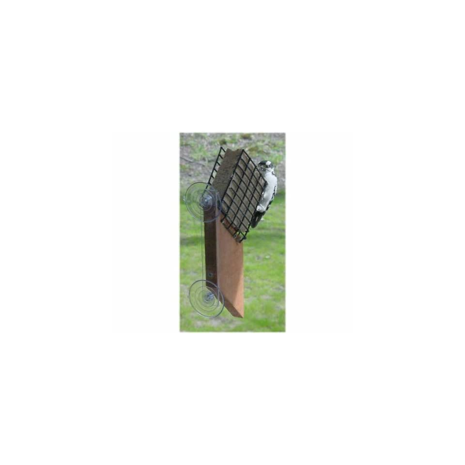 Suet Window Feeder   (Bird Feeders) (Seed Feeders) (Window Bird Feeders)