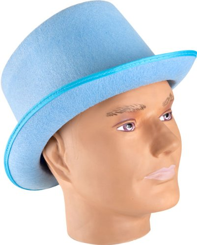 [HMS Baby Top Hat, Blue] (The Blue Man Group Costume)