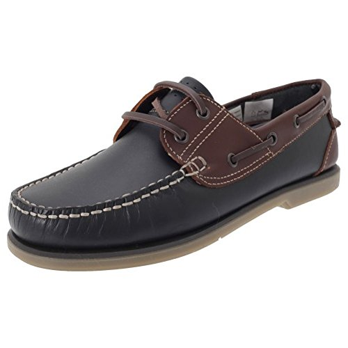 Moccasin Mens 12 Sko Eller Nubuck Navy Ferdig Finish 12 Navy Båt Nubuck brown Lær Moccasin Brun Boat Sizes Leather Or 6 6 Størrelser Shoes Menns qr0rpnxzw