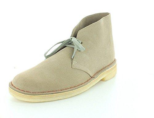Clarks Original Mens Ny Sand Mocka Desert Boot 13 D (m) Oss, 13 D (m) Oss