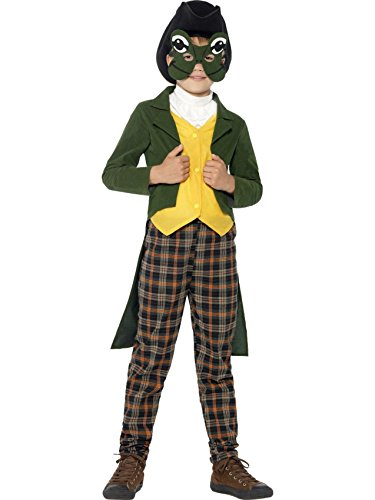 Star55 Big Boys' Fairytale Mr Toad Fancy Dres Costume Medium (7-9 Years) (Boys Toad Deluxe Costumes)