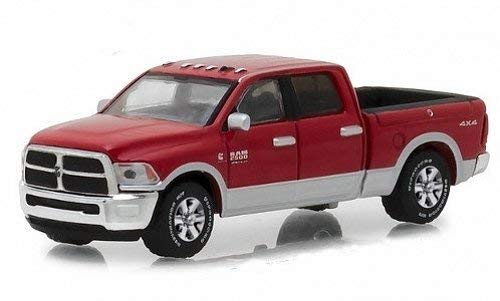 - 2018 Dodge Ram 2500 Big Horn Pickup Truck Red Harvest Edition Hobby Exclusive 1/64 Diecast Model Car by Greenlight 29953