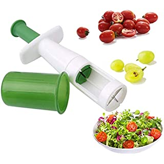 Fruit Vegetable Cutter Grape Slicer Auxiliary Baby Food Multifunctional Cherry Tomato Slicers Kitchen Tool Handy Fun Salad Gadgets