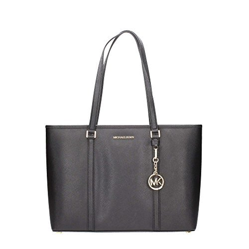 Michael Kors Large Sady Carryall Shoulder Bag Black ()