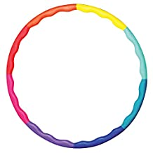 Weight Loss Sports Hoop® Series: Acu Hoop® 5L - 4.9lb (2.2kg) Large, Weighted Fitness Exercise Hula Hoop