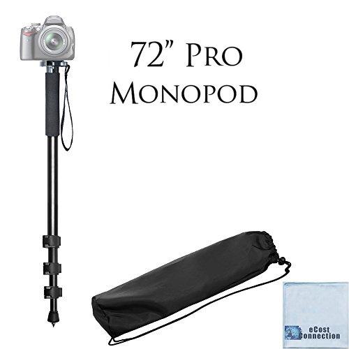 "Pro Series 72"" Monopod w/ Quick Release For Digital Cameras + Microfiber Cloth"