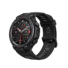 Amazfit T-Rex Pro Smartwatch Fitness Watch with SpO2, Heart Rate, Sleep Monitor, Sports Watch with Over 100 Sports Modes…